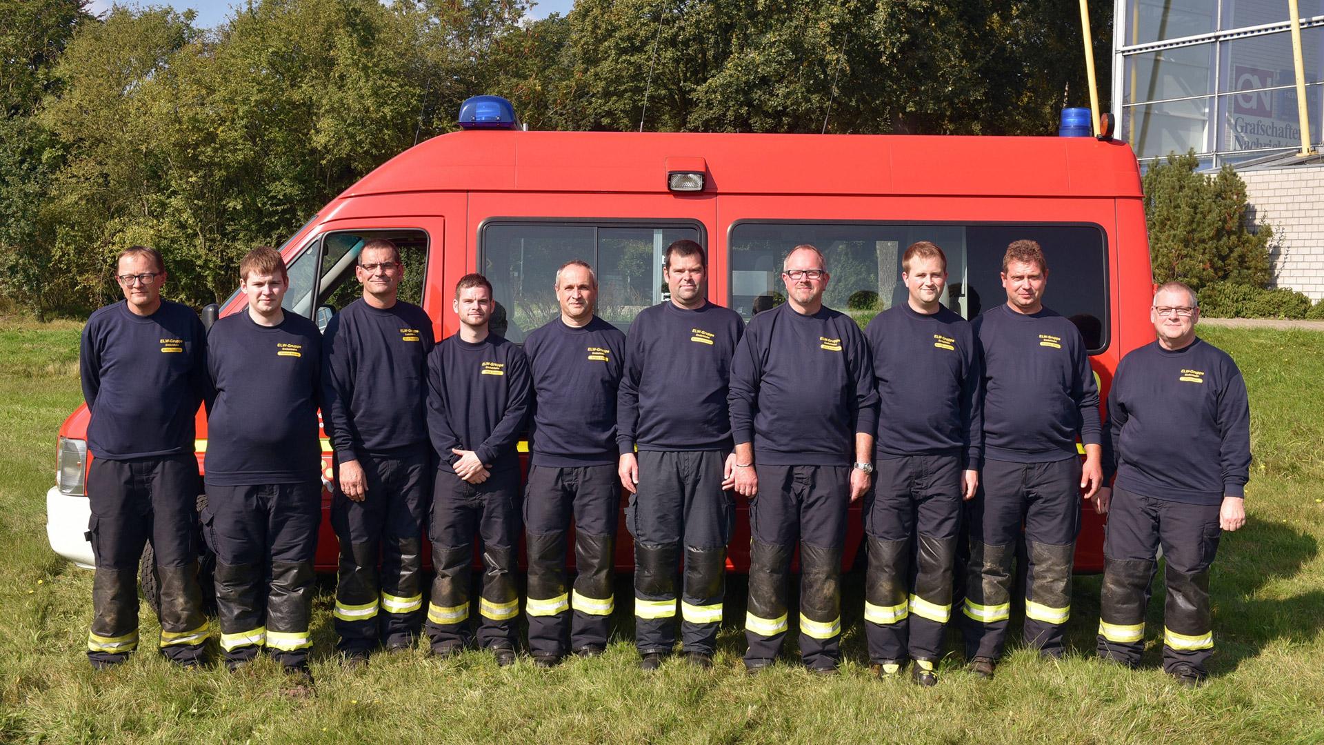 ELW Gruppe der Freiwilligen Feuerwehr Emlichheim