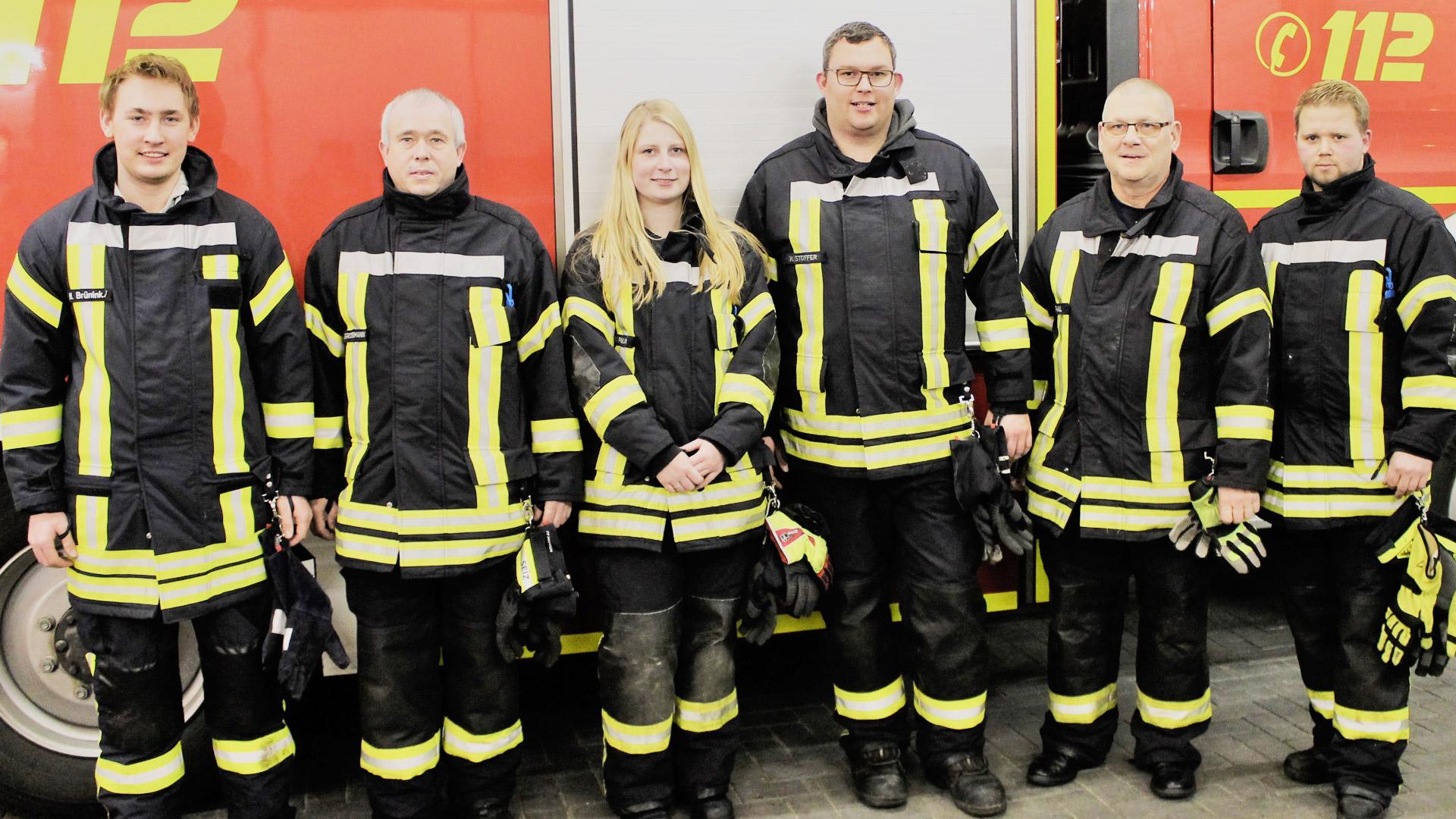 Betreuer der Jugendfeuerwehr Emlichheim